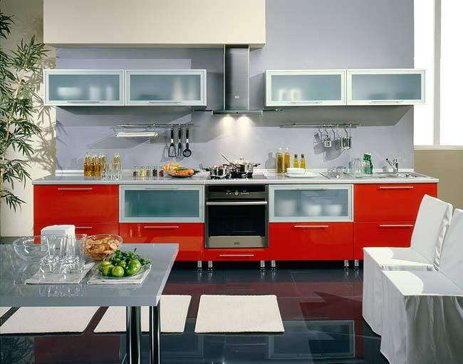 Кухни в стиле хай тек hi tech
