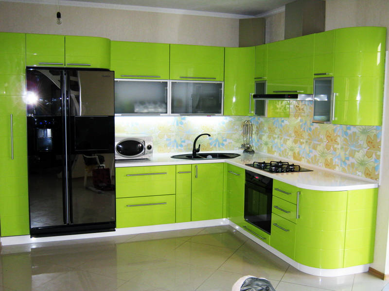 Мебель кухни в стиле хай тек hi tech